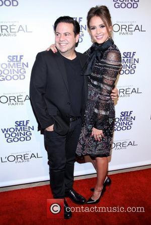 Narciso Rodriguez and Jessica Alba