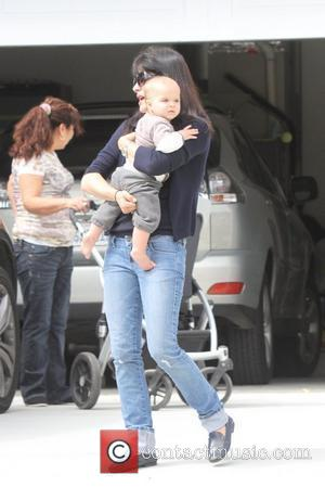 Selma Blair and son Arthur Saint arrive to their home  Los Angeles, California - 03.05.12