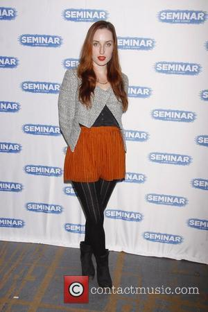 Zoe Lister-Jones  Meet and greet with the new cast of the Broadway play 'Seminar', held at the Roundabout Rehearsal...