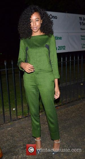Corinne Bailey Rae Future Contemporaries party held at The Serpentine Gallery London, England - 17.09.12
