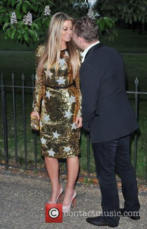 Nick Candy and Holly Valance The Serpentine Gallery Summer Party held in Hyde Park - Arrivals. London, England - 26.06.12