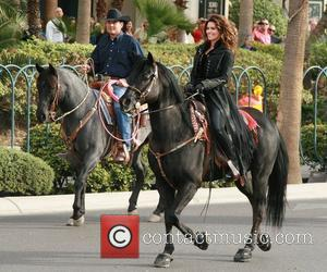 Country, Shania Twain, Las Vegas Strip, December, The Colosseum and Caesars Palace