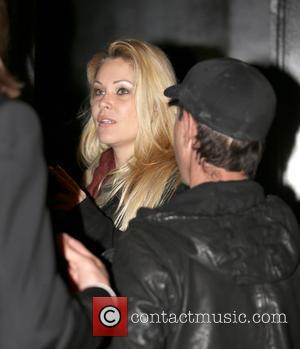 Shanna Moakler and boyfriend on a night out at Bootsy Bellows in West Hollywood, California, USA - 23.11.12  Featuring:...