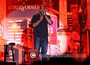Finesse Mitchell Best Buy Theater and C by Courvoisier present Shaquille O'Neal's All Star Comedy Jam New York City, USA...