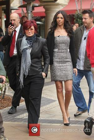 Sharon Osbourne and Terri Seymour