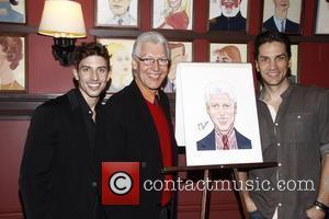 Nick Adams, Tony Sheldon and Will Swenson Sardi's Portrait Unveiling held at Sardi's restaurant. New York City, USA – 02.05.12
