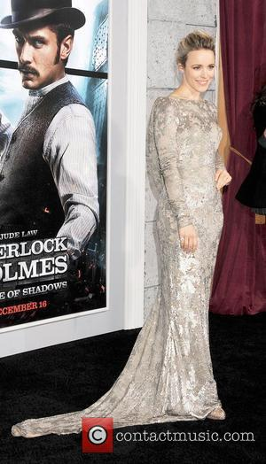 Rachel McAdams Los Angeles Premiere of Sherlock Holmes: A Game Of Shadows held at the The Village Theater  Los...