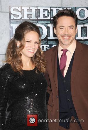 Susan Levin and Robert Downey Jr
