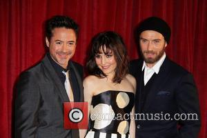 Robert Downey Jr., Noomi Rapace, Jude Law 'Sherlock Holmes: A Game of Shadows' premiere - Arrivals London, England - 08.12.11