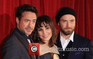 Robert Downey Jr, Noomi Rapace and Jude Law 'Sherlock Holmes: A Game of Shadow' premiere - Arrivals London, England -...