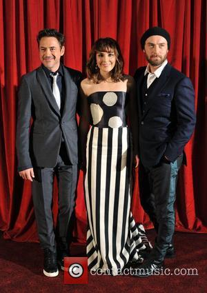 Robert Downey Jr, Jude Law, Noomi Rapace 'Sherlock Holmes: A Game of Shadows' UK film premiere held at the Empire...