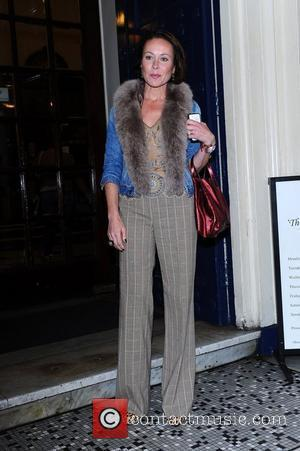 Amanda Mealing  'Shrek The Musical' first anniversary performance held at Theatre Royal London, UK - 09.05.12
