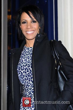 Kelly Holmes 'Shrek The Musical' first anniversary performance held at Theatre Royal London, UK - 09.05.12