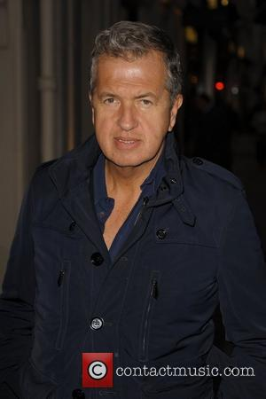 Mario Testino Alexandra Shulman book launch party at Sotherby's  London, England - 28.03.12