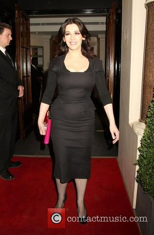 Nigella Lawson Alexandra Shulman book launch party at Sotherby's - Departures London, England - 28.03.12