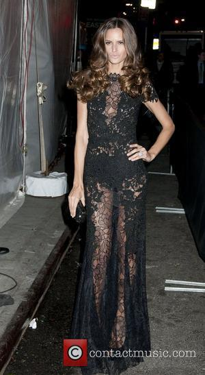 Izabel Goulart Sports Illustrated Swimuit Issue 2012 party at Crimson - Outside Arrivals New York City, USA - 14.02.12