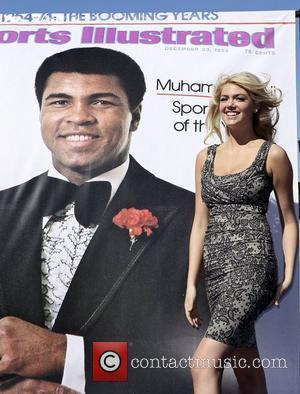 Kate Upton, Caesars, Muhammad Ali and Caesars Palace