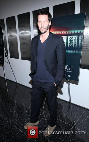 Keanu Reeves  The premiere of 'Side By Side' held at The Museum of Modern Art New York City, USA...