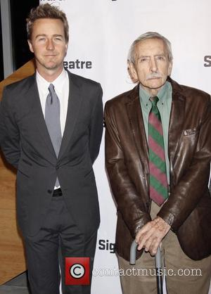 Edward Norton and Edward Albee