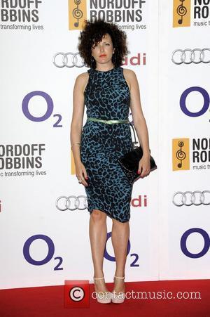 Annie Mac  Nordoff Robbins Silver Clef lunch - Arrivals London, England - 29.06.12