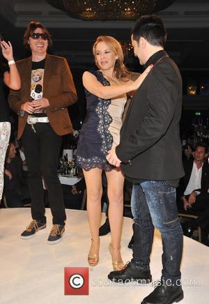 Kylie Minogue and James Dean Bradfield