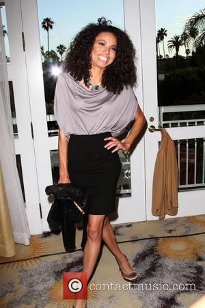 Jurnee Smollett Jenesse Silver Rose Gala honoring the Xerox Corporation for their help in the fight against domestic violence, held...