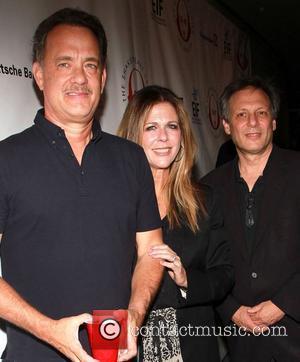 Tom Hank, Rita Wilson and Ben Donenberg