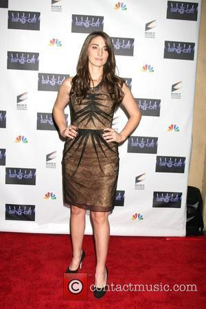 Sara Bareilles NBC's The Sing Off Live Finale 2011 at Sony Pictures Studio Culver City, California - 28.11.11
