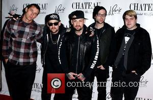 Joel Madden, Benji Madden and band members of Good Charlotte  Jersey Shore star Mike 'The Situation' Sorrentino and Good...