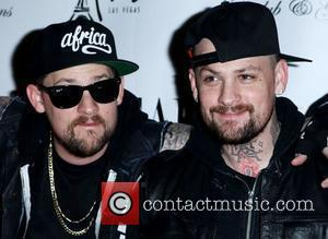 Joel Madden, Benji Madden of Good Charlotte  Jersey Shore star Mike 'The Situation' Sorrentino and Good Charlotte walk the...