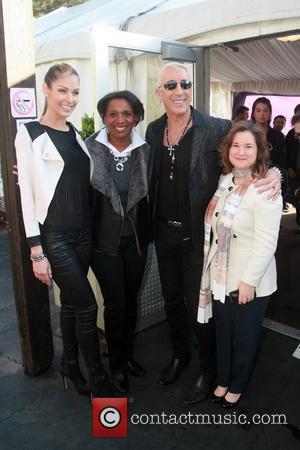 Dayana Mendoza, Candace S. Matthews, Dee Snider and Sharon Cohen  2012 Skating with the Stars gala at Wollman Rink...