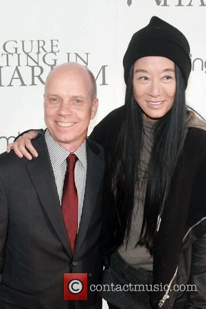Scott Hamilton and Vera Wang  2012 Skating with the Stars gala at Wollman Rink in Central Park New York...