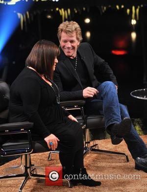 Dawn French and Jon Bon Jovi