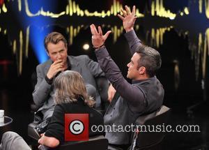Fredrik Skavlan and Robbie Williams