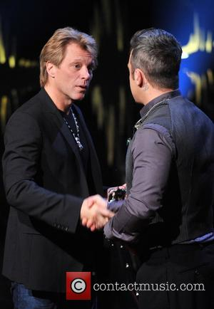 Jon Bon Jovi and Robbie Williams