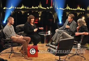 Martin Kellerman, Dawn French, Fredrik Skavlan and Karl Ove Knausgaard