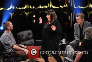 Dawn French, Martin Kellerman and Fredrik Skavlan