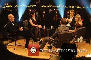Freddie Ljungberg, Elizabeth Mcgovern, Fredrik Skavlan and Taylor Swift