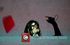 Skrillex performing his sold out show the Heineken Music Hall Amsterdam, Holland - 28.04.12