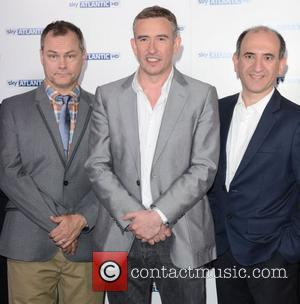 Jack Dee, Armando Iannucci and Steve Coogan