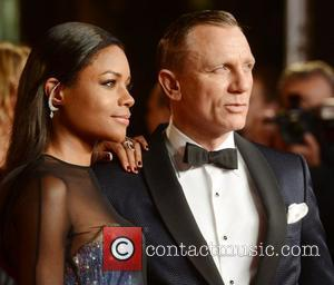 Daniel Craig, Naomie Harris, Skyfall, Royal Albert Hall, London and England