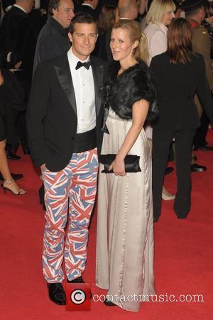 Bear Grylls and Shara Grylls Royal World Premiere of Skyfall held at the Royal Albert Hall - Arrivals.  London,...