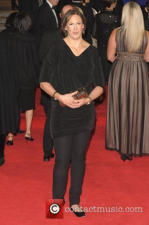 Miranda Hart Royal World Premiere of Skyfall held at the Royal Albert Hall - Arrivals.  London, England - 23.10.12