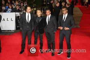 Aston Merrygold, Orits, Williams, J, B. Gill and Marvin Humes