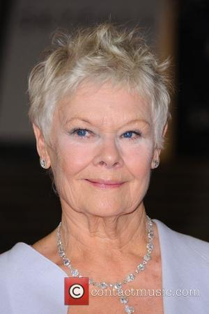 Dame Judi Dench James Bond Skyfall World Premiere held at the Royal Albert Hall- Arrivals   London, England -...