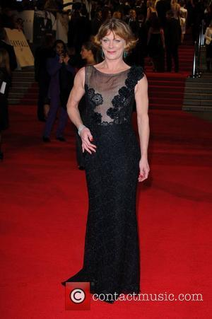 Samantha Bond James Bond Skyfall World Premiere held at the Royal Albert Hall- Arrivals   London, England - 23.10.12