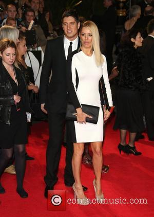 Vernon Kay and Tess Daly James Bond Skyfall World Premiere held at the Royal Albert Hall- Arrivals London, England -...