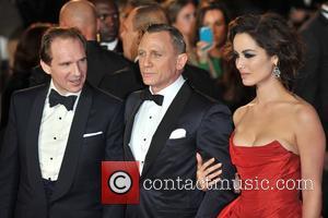Ralph Fiennes, Daniel Craig, Berenice Marlohe and Royal Albert Hall
