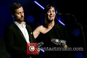 Raine Maida & Chantal Kreviazuk 30th Annual Canadian Music & Broadcast Industry Awards Gala at the Fairmont Royal York Hotel...