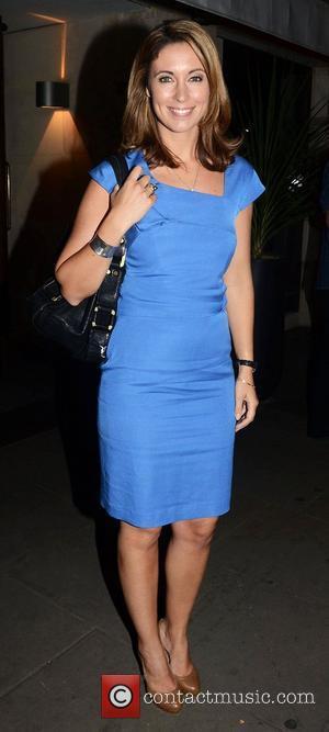 Emma Crosby,  at the Slazenger Wimbledon Party held at Aqua Nueva London, England - 28.06.12
